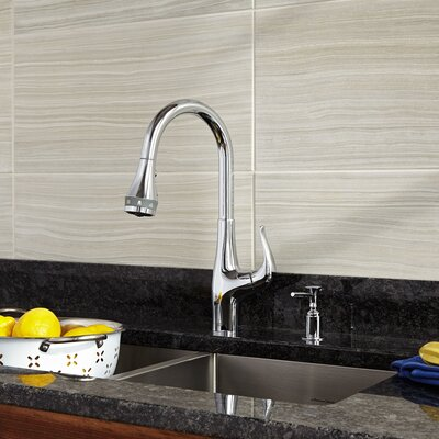 Xavier SelectFlo Pull Down Bar Faucet Finish: Polished Chrome