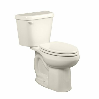 Colony HET Right Height 1.28 GPF Elongated Two-Piece Toilet Color: Linen