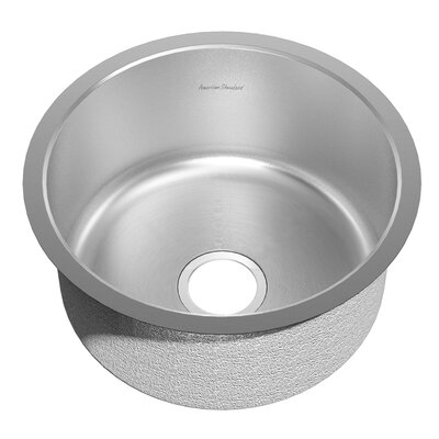 Prevoir 18.06 x 18.06 Round Stainless Steel Undermount Single Bowl Kitchen Sink