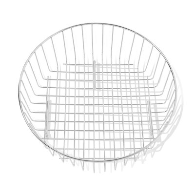 Round Drain Basket in Stainless Steel 8241.14RD00.075