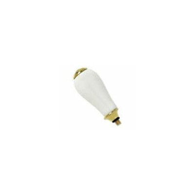 Williamsburg Porcelain Lever Handle Finish: Polished Brass (PVD)