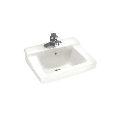 Declyn 19 Wall Mount Bathroom Sink with Overflow