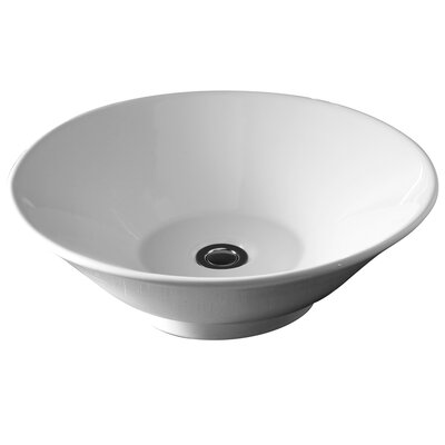 Celerity Circular Vessel Bathroom Sink