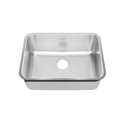 24.75 x 18.75 Steel Undermount Single 1-Bowl Kitchen Sink