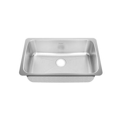 30.125 x 19.125 Undermount Single Bowl Kitchen Sink