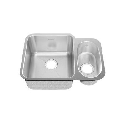 24.88 x 18.75 Undermount Double Combination Bowl Kitchen Sink