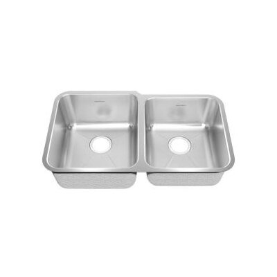 31.88 x 18.75 Undermount Double Combination Bowl Kitchen Sink