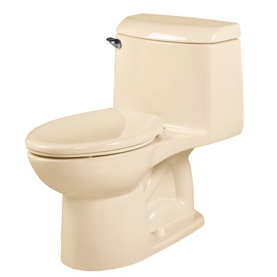 Champion 4 Right Height 1.6 GPF Elongated One-Piece Toilet Finish: Bone