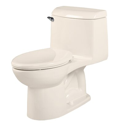 Champion 4 Right Height 1.6 GPF Elongated One-Piece Toilet Finish: Linen