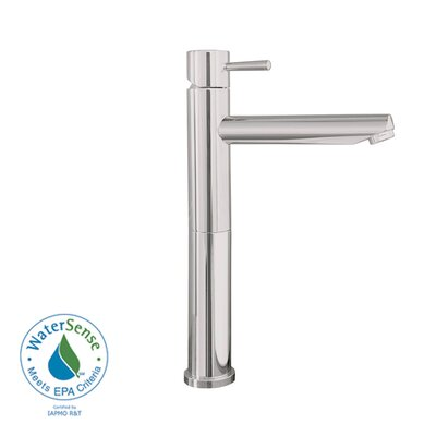 Serin Single Hole Bathroom Vessel Faucet with Single Handle Finish: Satin Nickel