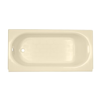 Princeton 60 x 30 Soaking Bathtub Finish: Bone, Drain Location: Left-Hand