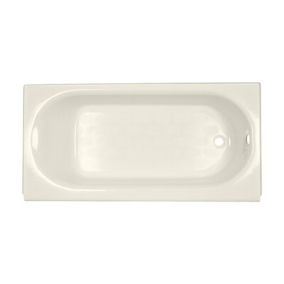 Princeton 60 x 30 Soaking Bathtub Finish: Linen, Drain Location: Right-Hand