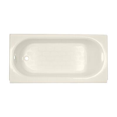 Princeton 60 x 30 Above Floor Americast Recessed Soaking Bathtub Finish: Linen, Drain Location: Left