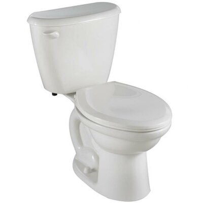 Colony Fit Right 1.6 GPF Elongated Two-Piece Toilet Finish: White