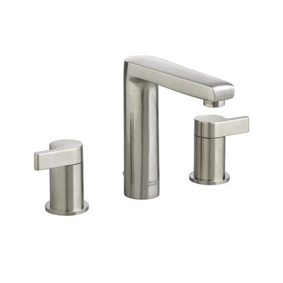 Studio 2 Handle Widespread Bathroom Faucet Finish: Satin