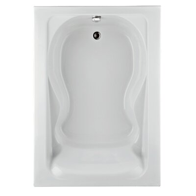Cadet 72 x 42 Soaking Bathtub Finish: White