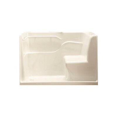American Standard Left Hand Acrylic Seated Shower - Color: Linen at Sears.com