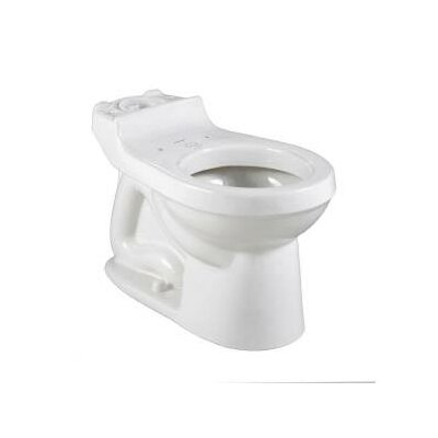 Champion 1.6 GPF Round Toilet Bowl Finish: White