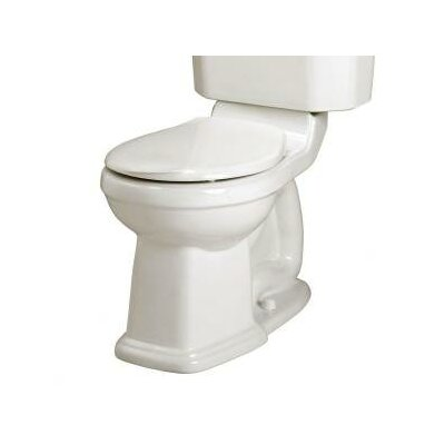 Champion Townsend Right Height 1.6 GPF Round Toilet Bowl Finish: White