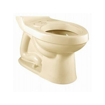 Williamsburg Champion Right Height 1.6 GPF Elongated Toilet Bowl Finish: Bone