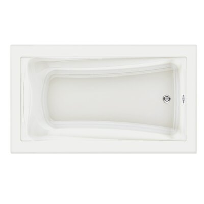Green Tea 72 x 42 Air Tub Finish: White