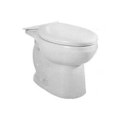 H2Option Dual Flush Elongated Toilet Bowl Finish: White