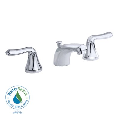 Colony Widespread Bathroom Faucet with Double Handles Finish: Satin Nickel