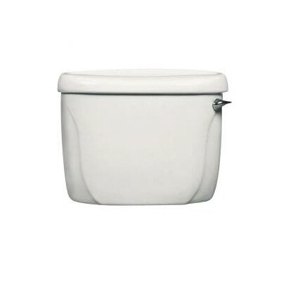 Cadet Flushometer 1.6 GPF Toilet Tank Finish: White, Lever Location: Left-Hand