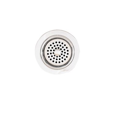 Adjustable 3.5 Grid Kitchen Sink Drain Finish: Polished Chrome