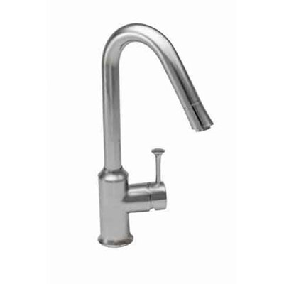 Pekoe Single Handle Single Hole kitchenFaucet with Hi Flow Spout Finish: Stainless Steel