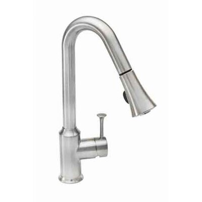 Pekoe Pull Down Single Handle Kitchen Faucet Finish: Chrome