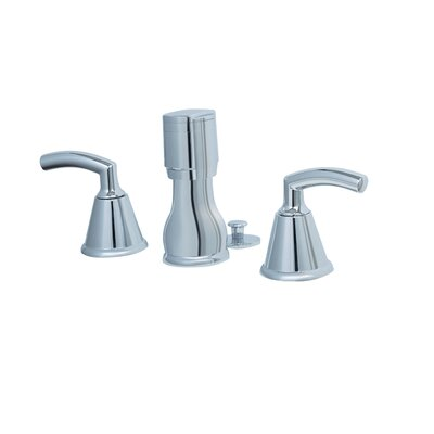 Tropic Double Handle Vertical Spray Bidet Faucet