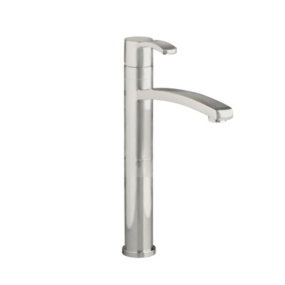 Berwick Single Holel Vessel Faucet with Single Handle Finish: Satin Nickel