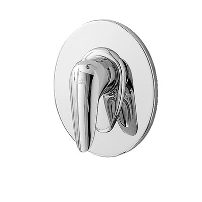 Ceramix Diverter Shower Faucet Trim Kit Finish: Chrome