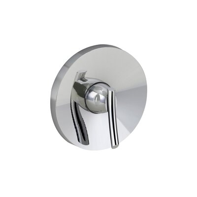 Green Tea Diverter Shower Faucet Trim Kit Finish: Polished Chome