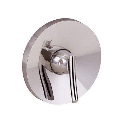 Green Tea Diverter Shower Faucet Trim Kit Finish: Stainless Steel