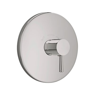 Serin Central Thermostatic Shower Faucet Trim Kit Finish: Satin Nickel