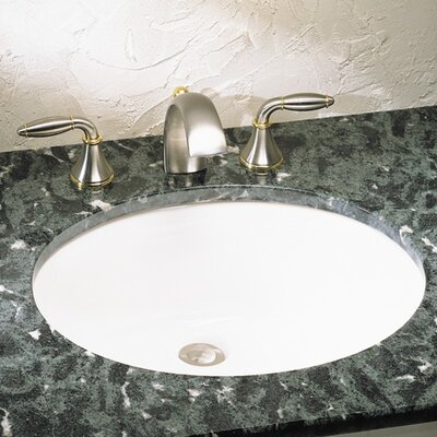 Ovalyn Oval Undermount Bathroom Sink