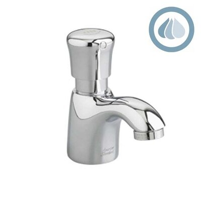 Metering Pillar Tap Faucet 1.5 GPM Less Grid Drain with Mixing Valve