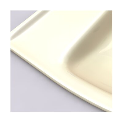 Cadet 1.28 GPF Elongated Two-Piece Toilet Finish: Bone