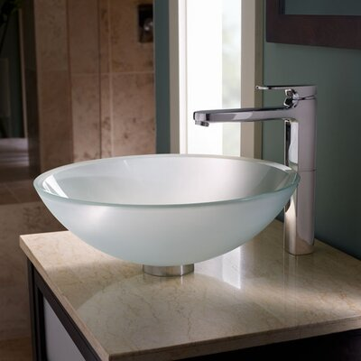 Moments Vessel Faucet with Grid Drain