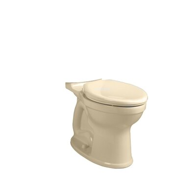 Champion Pro Right Height 1.28 GPF Elongated Toilet Bowl Finish: Bone