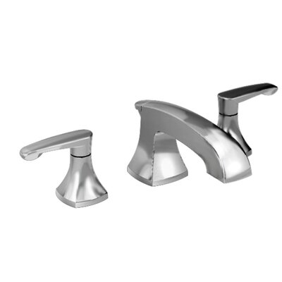 Copeland Widespread Double Handle Bathroom Faucet with Drain Assembly Finish: Satin Nickel