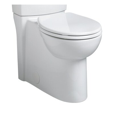 Concealed Trapway Right Height Round Toilet Bowl