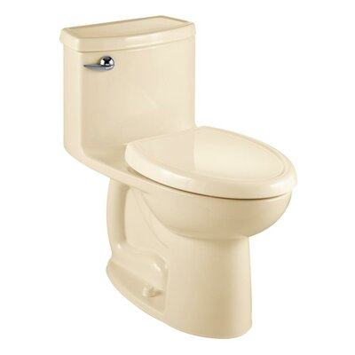 Cadet Compact 3 Flowise 1.28 GPF Elongated One-Piece Toilet Finish: Bone