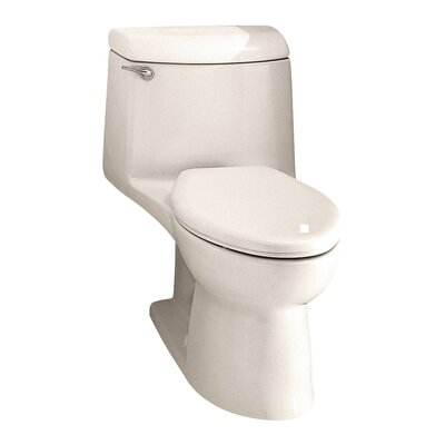 Champion 1.6 GPF Elongated One-Piece Toilet Finish: Linen