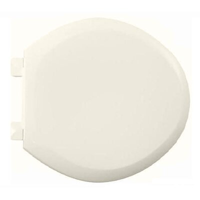 EverClean Round Toilet Seat and Cover Finish: Linen
