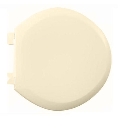 EverClean Round Toilet Seat and Cover Finish: Bone
