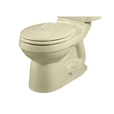 Champion 1.6 GPF Round Toilet Bowl Finish: Bone