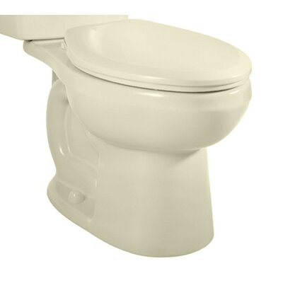 H2Option Dual Flush Elongated Toilet Bowl Finish: Linen